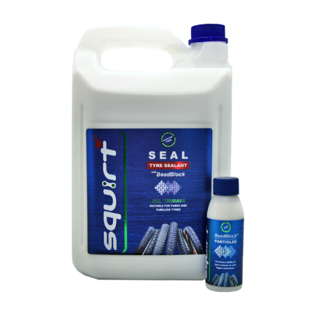 SQUIRT SEAL TYRE SEALANT WITH BEADBLOCK 5Ltr
